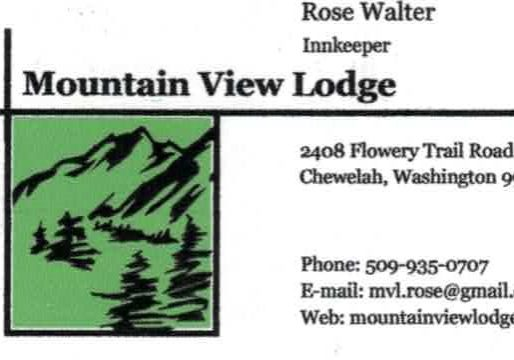 Mt View Lodge